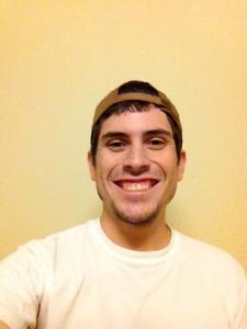 intern Marlon smiling