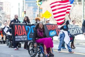 ADA 25th Anniversary Parade