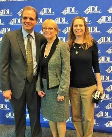 Sharon Langer and Debbie and Matthew Dietz