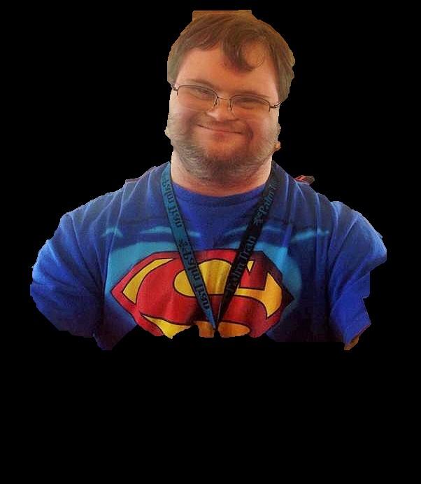 Karl Hunt as Superman